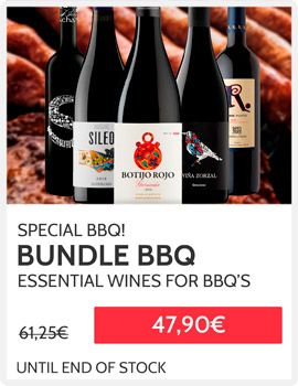 Promo sale wines for bbq
