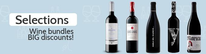 Enbotella wines bundles and selections