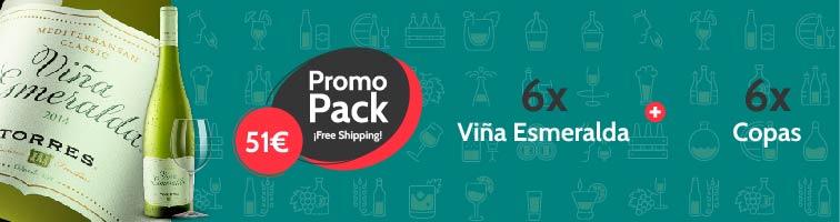 Pack Viña Esmeralda Promocion Envio Gratis