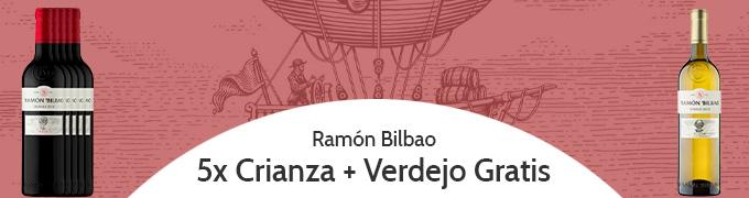 Promocion Pack Ramon Bilbao Crianza Verdejo Gratis